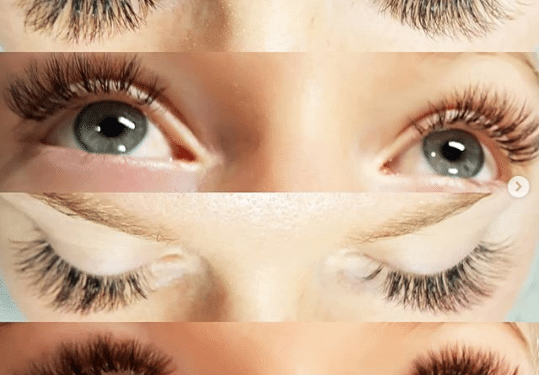 Eyelash Extensions retention
